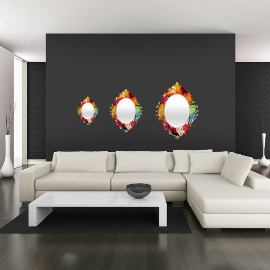 DENY Designs CayenaBlanca Big 2 Baroque Mirror