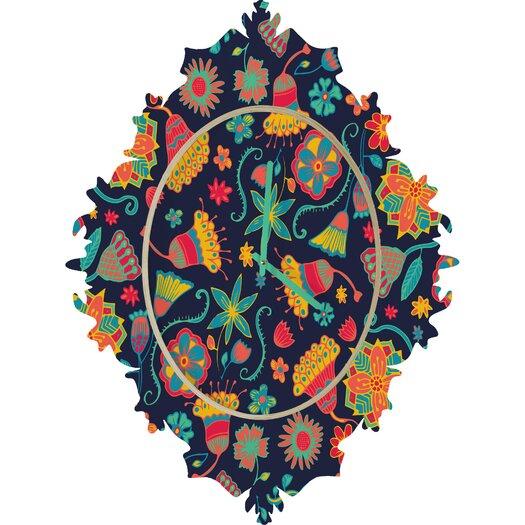 DENY Designs Arcturus Bloom Wall Clock