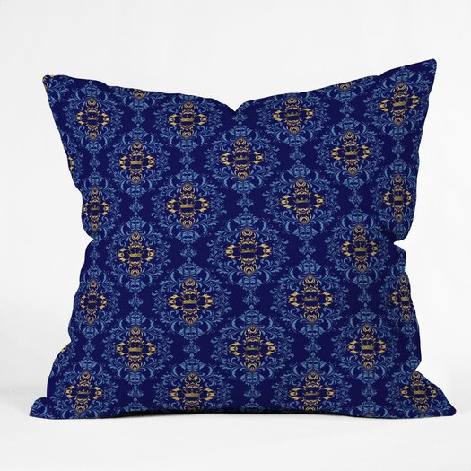 DENY Designs Belle13 Royal Damask Pattern Polyester Throw Pillow