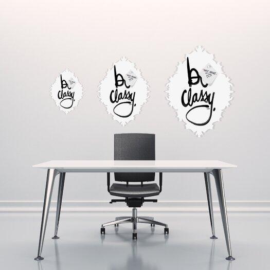 DENY Designs Kal Barteski Be Classy Baroque Memo Board