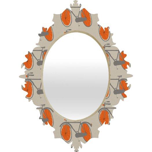 DENY Designs Mummysam Bicycles Baroque Mirror