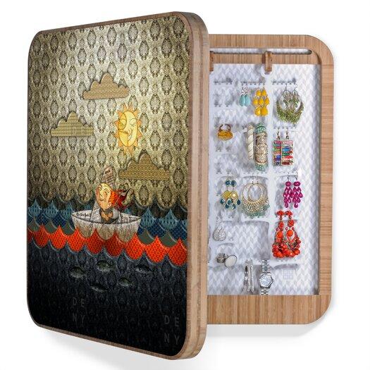 DENY Designs Jose Luis Guerrero Paper Boat Jewelry Box