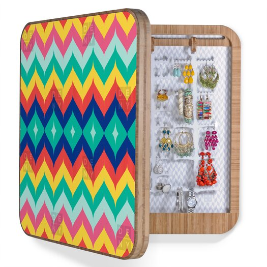 DENY Designs Juliana Curi Chevron Jewelry Box