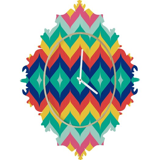 DENY Designs Juliana Curi Chevron Wall Clock