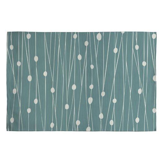 DENY Designs Heather Dutton Entangled Blue Area Rug