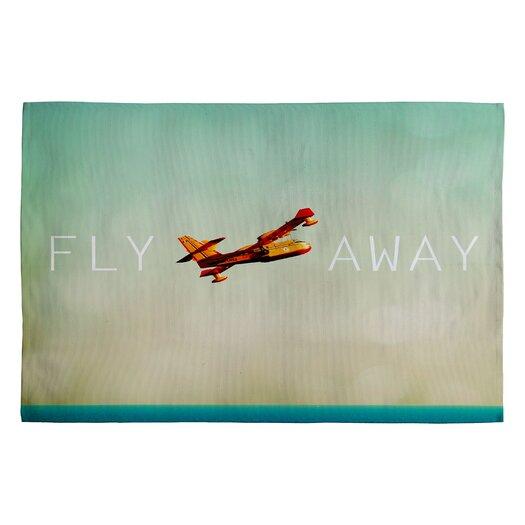 DENY Designs Happee Monkee Fly Away Novelty Rug