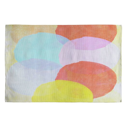 DENY Designs Hello Twiggs Circles Geometric Area Rug