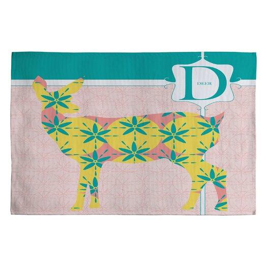DENY Designs Jennifer Hill Miss Deer Kids Rug
