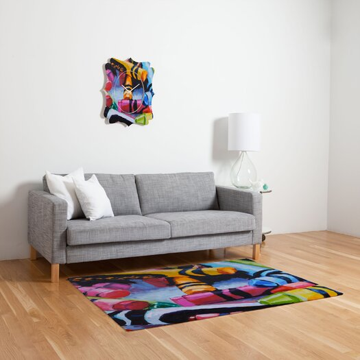 DENY Designs Jenny Grumbles Crayons Kids Rug