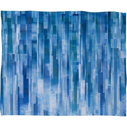 DENY Designs Jacqueline Maldonado Rain Polyester Fleece Throw Blanket
