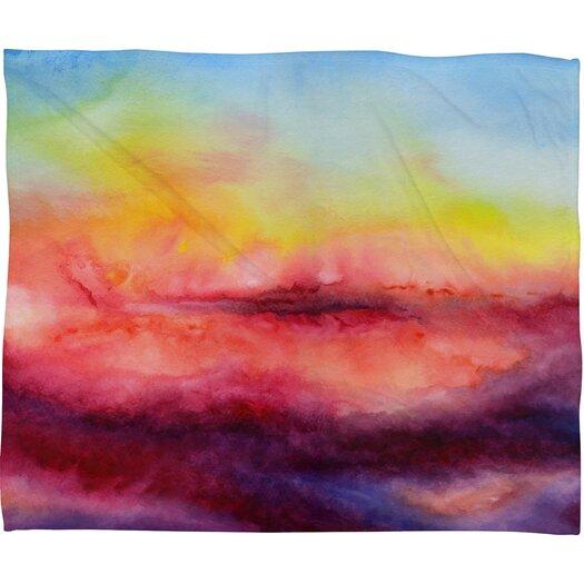 DENY Designs Jacqueline Maldonado Kiss Of Life Polyester Fleece Throw Blanket