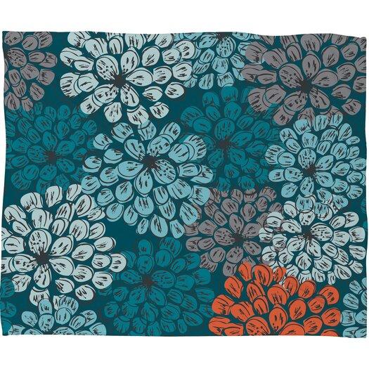 DENY Designs Khristian A Howell Greenwich Gardens 3 Polyester Fleece Throw Blanket