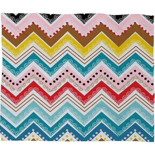 DENY Designs Khristian A Howell Nolita Chevrons Polyester Fleece Throw Blanket