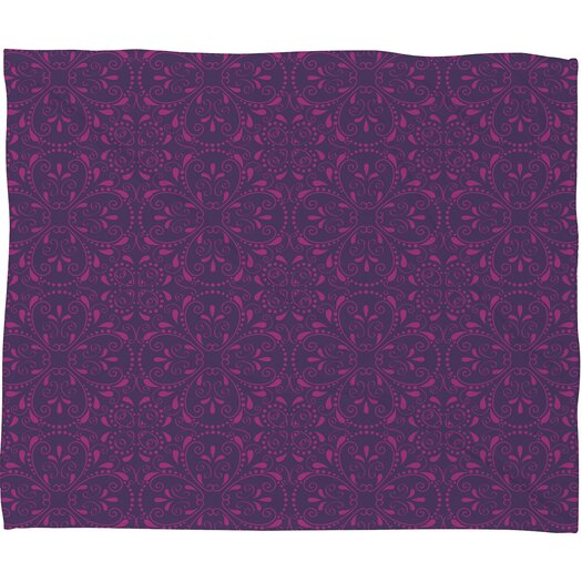 DENY Designs Khristian A Howell Provencal Lavender 1 Polyester Fleece Throw Blanket