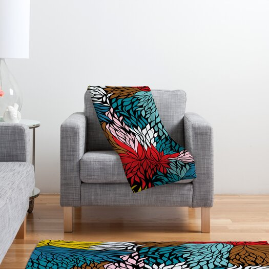 DENY Designs Khristian A Howell Nolita Cover Polyester Fleece Throw Blanket
