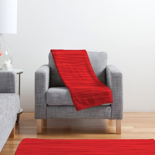 DENY Designs Khristian A Howell Rendezvous 9 Polyester Fleece Throw Blanket