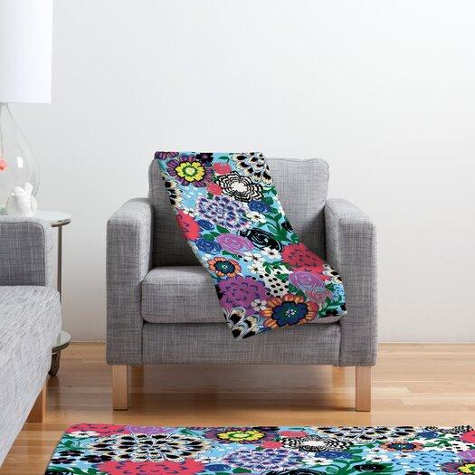 DENY Designs Khristian A Howell Valencia 1 Polyester Fleece Throw Blanket