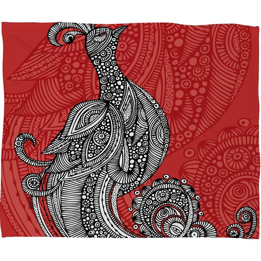 DENY Designs Valentina Ramos The Bird Polyester Fleece Throw Blanket
