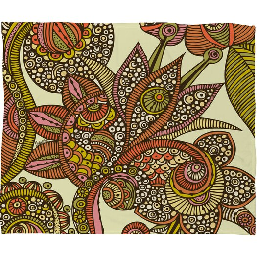 DENY Designs Valentina Ramos Dina Polyester Fleece Throw Blanket