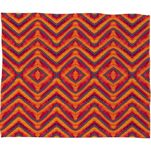 DENY Designs Wagner Campelo Sanchezia 1 Polyester Fleece Throw Blanket