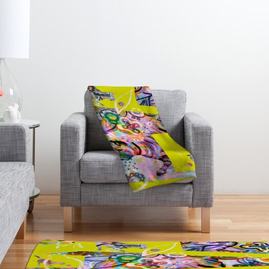 DENY Designs Randi Antonsen Cats 4 Polyester Fleece Throw Blanket