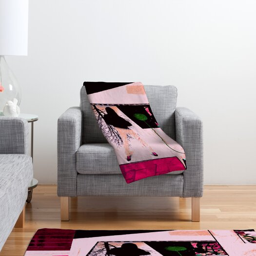DENY Designs Randi Antonsen City 2 Polyester Fleece Throw Blanket