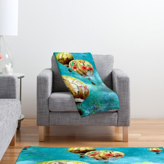 DENY Designs Land Of Lulu Polyester Fleece Throw Blanket