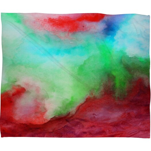 DENY Designs Jacqueline Maldonado The Red Sea Polyester Fleece Throw Blanket