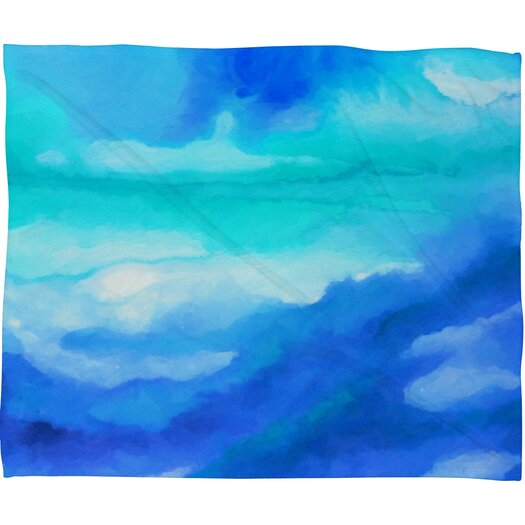 DENY Designs Jacqueline Maldonado Rise 2 Polyester Fleece Throw Blanket