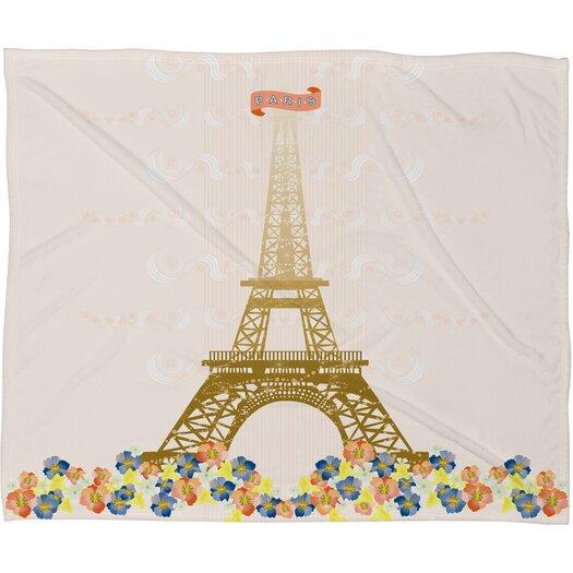 DENY Designs Jennifer Hill Polyester Fleece Throw Blanket