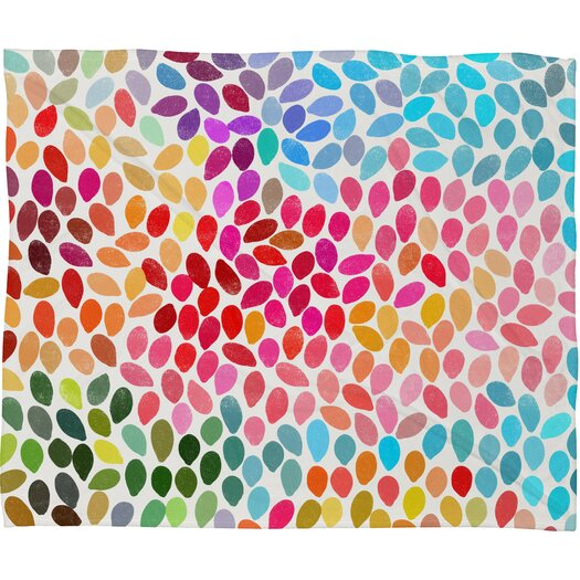DENY Designs Garima Dhawan Polyester Fleece Throw Blanket