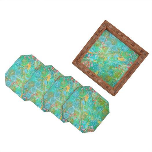 DENY Designs Stephanie Corfee Secret Garden Coaster