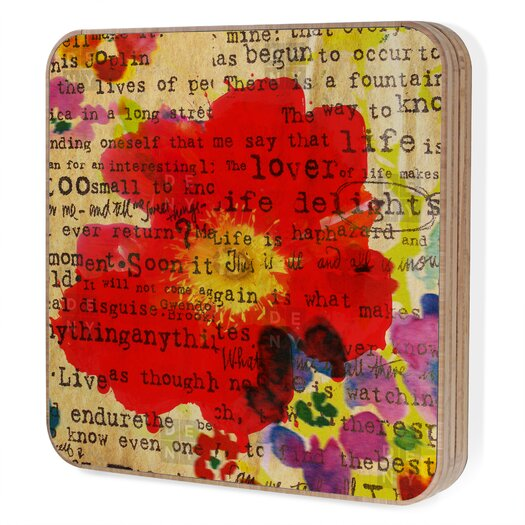 DENY Designs Irena Orlov Poppy Poetry 2 Jewelry Box Replacement Cover