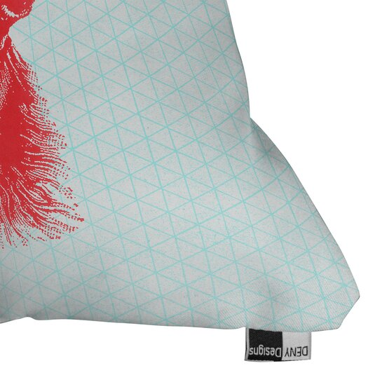 DENY Designs Nick Nelson Young Buck Throw Pillow