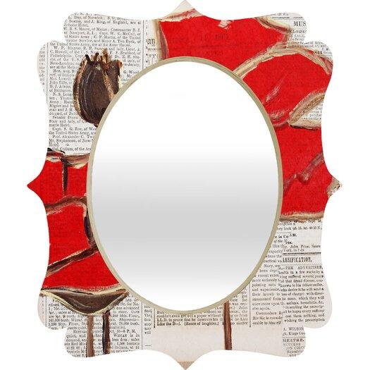 DENY Designs Irena Orlov Perfection Quatrefoil Mirror