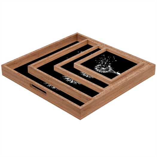 DENY Designs Budi Kwan Going Where The Wind Blows Square Tray