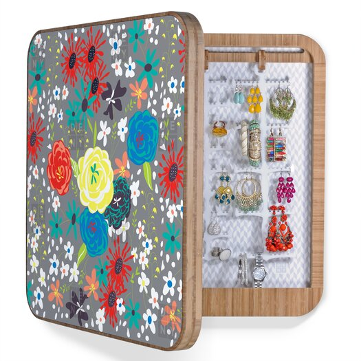 DENY Designs Vy La Bloomimg Love Jewelry Box