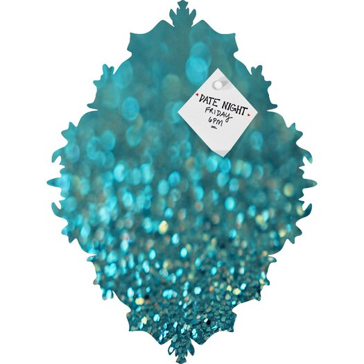 DENY Designs Lisa Argyropoulos Aquios Baroque Magnet Memo Board