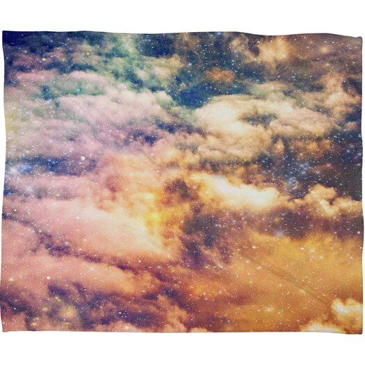 DENY Designs Shannon Clark Cosmic Polyesterr Fleece Throw Blanket