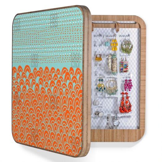 DENY Designs Budi Kwan The Infinite Tidal Blingbox Jewelry Box