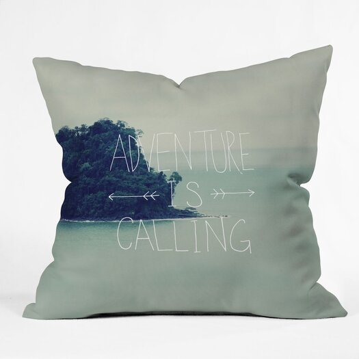 DENY Designs Leah Flores Adventure Island Throw Pillow