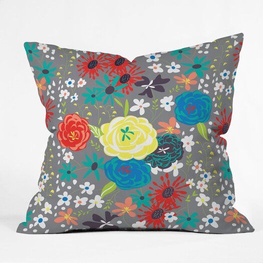 DENY Designs Vy La Bloomimg Love Throw Pillow