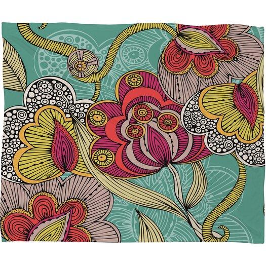 DENY Designs Valentina Ramos Beatriz Polyesterr Fleece Throw Blanket