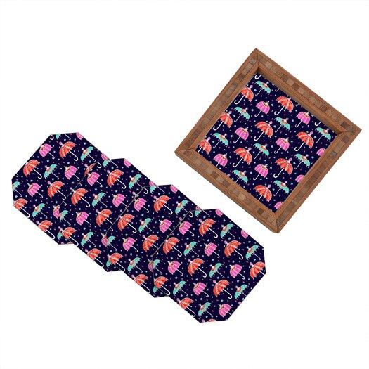DENY Designs Rebekah Ginda Design Night Shower Coaster