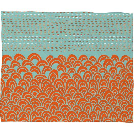 DENY Designs Budi Kwan The Infinite Tidal Polyesterrr Fleece Throw Blanket