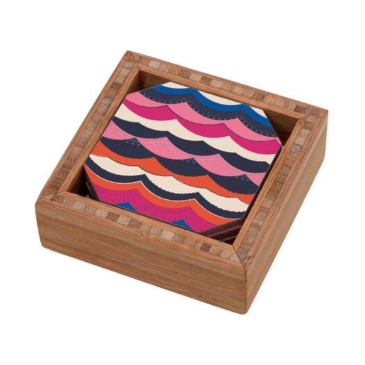 DENY Designs Vy La Unwavering Love Coaster