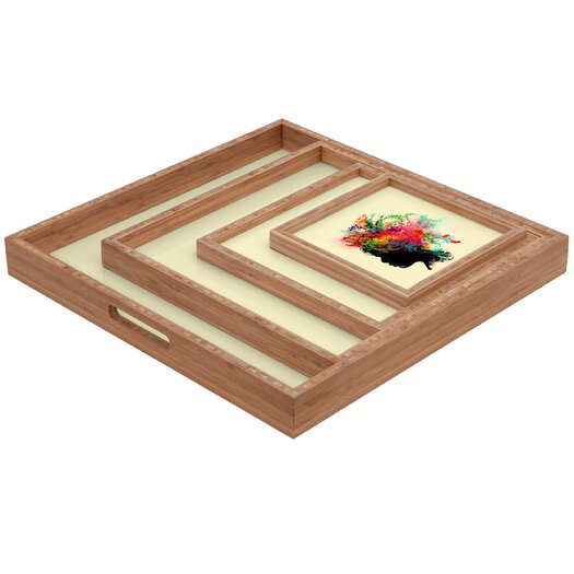 DENY Designs Budi Kwan Wildchild Square Tray