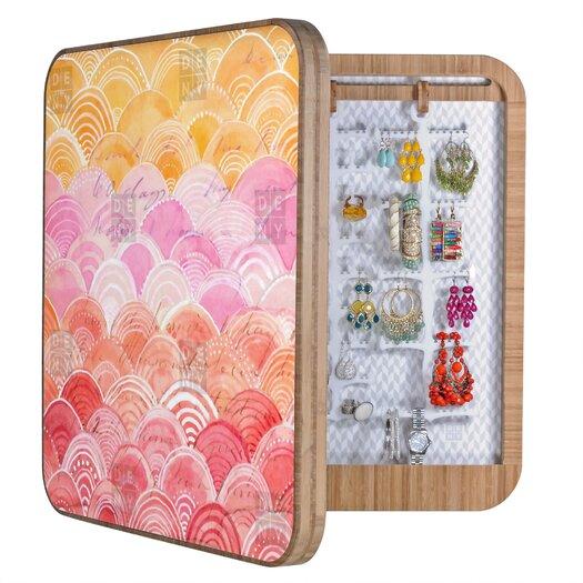 DENY Designs Cori Dantini Warm Spectrum Rainbow Blingbox Jewelry Box