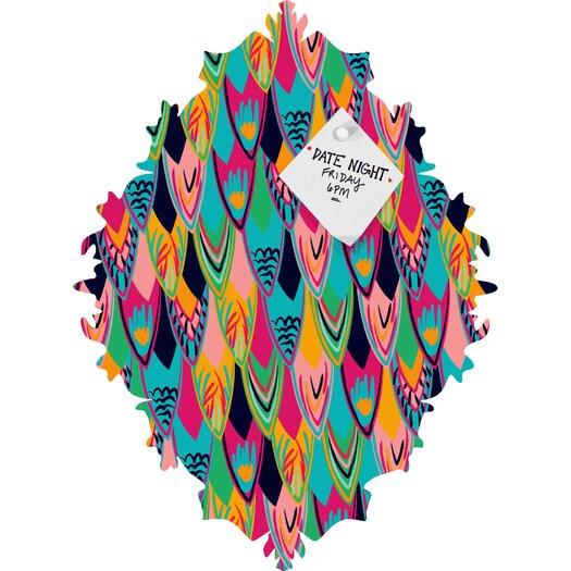 DENY Designs Vy La Love Birds 1 Baroque Bulletin Board
