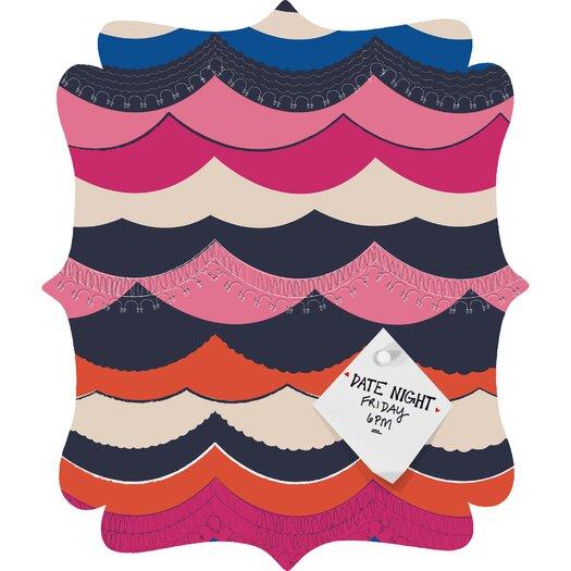 DENY Designs Vy La Unwavering Love Quatrefoil Bulletin Board